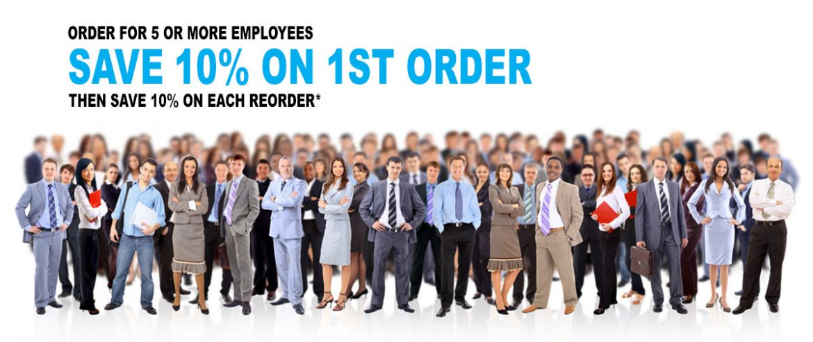 Multi Employee Printing Discounts